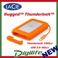 "LaCie 2TB Rugged Thunderbolt USB 3.0 2.5"" Portable Mobile Drive STEV2000400"