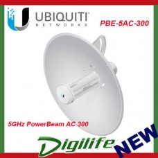 Ubiquiti 5GHz PowerBeam AC 300 airMAX ac Bridge Directional Antenna PBE-5AC-300