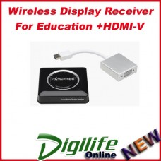Actiontec Wireless Display Receiver for Education + HDMI-V
