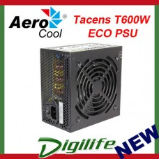 Aerocool Tacens T600W ECO ATX Power Supply PSU for PC