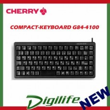 Cherry Compact 86 Keys G84-4100LCMUS-2 Black/USB Keyboard