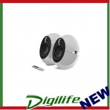 Edifier E25HD LUNA HD Bluetooth Speakers White - BT 4.0/3.5mm AUX/Optical DSP
