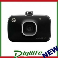 HP SPROCKET 2-IN-1 INSTANT CAMERA & BLUETOOTH PRINTER BLACK 2FB97A