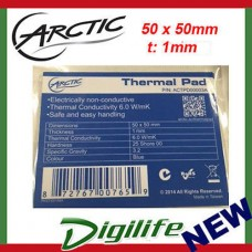 Arctic Thermal Cooling Pad 50mm x 50mm x 1.5mm High Performance Gap Filler
