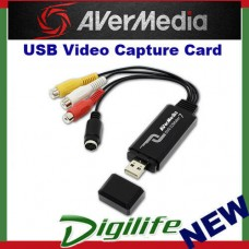 AVerMedia C039 EZMaker 7 USB Video Capture Card Analog to Digital Recorder