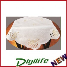 """Vintage Luxury Hand Embroidery and Cutwork Table Cloth Christmas XLY-1114 36*36"""""""