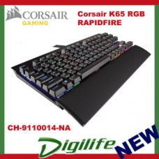Corsair Gaming K65 RGB RAPIDFIRE Compact Mechanical Keyboard Cherry MX Speed