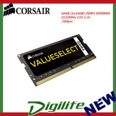 Corsair 16GB DDR4 SODIMM 2133MHz 1.2V260pin Value Select Notebook Laptop Memory