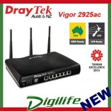 Draytek Vigor 2925ac Dual Gigabit-WAN AC1600 VPN Firewall Router DV2925ac