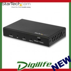 StarTech ST122HD202 2 Port HDMI Splitter with HDR 1 In 2 Out - 4K 60Hz