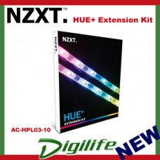 NZXT HUE+ RGB LED Lightning Extension Kit - AC-HPL03-10