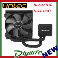 Antec Kuhler H20 H600 PRO All In One Liquid CPU Cooler Water Cooling
