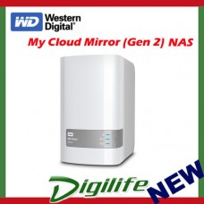 WD My Cloud Mirror Gen2 8TB 2 Bay NAS Personal Cloud Storage