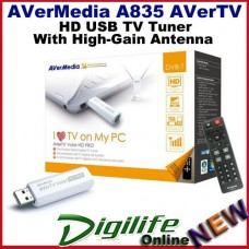 AVerMedia A835 PRO AverTV Volar HD Pro USB TV Tuner with High-Gain Antenna