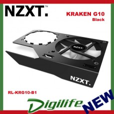 NZXT Kraken G10 Video Card GPU Bracket Fan Cooler Black