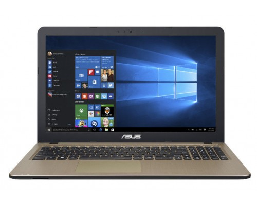 "ASUS F540SA 15.6"" HD LED Quad Core N3700 4GB 1TB webcam Wifi Win10"