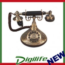 Antique Reproduction 1910 Nostalgie Duke Phone Telephone