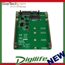 STARTECH M.2 SSD to 2.5in SATA Adapter Converter - NGFF SSD to 2.5in SATA Conver
