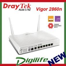 DrayTek Vigor 2860n VDSL2/ADSL2+ Gigabit Multi WAN VPN Firewall Router DV2860N