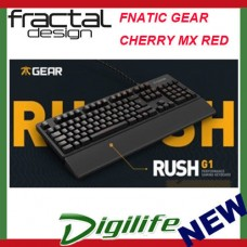 Fractal Design Rush Gaming Keyboard with Red Cherry MX Switches