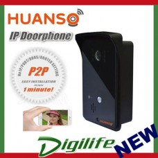 Huanso IP Video Doorphone CCTV Security Wireless Setup