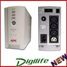 APC Back-UPS BK350EI CS 350VA 210W/USB I/Face/2Yr Wty