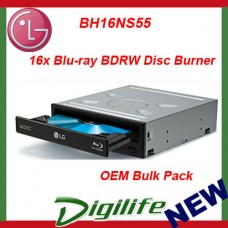 LG BH16NS55 16x Blu-ray BDRW Internal SATA Writer OEM M-Disc