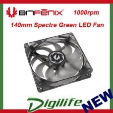 Bitfenix 140mm Spectre Green LED 1000RPM Case Fan