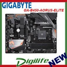 Gigabyte B450 AORUS ELITE Ryzen AM4 ATX Motherboard M.2 DVI HDMI RAID RGB Fusion