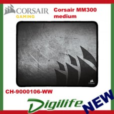 Corsair MM300 Anti-Fray Cloth Gaming Mouse Mat Medium Edition CH-9000106-WW