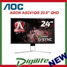 """AOC AGON AG241QG 23.8"""" QHD 165Hz 1ms G-Sync Gaming LCD Monitor"""