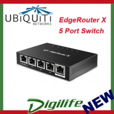 Ubiquiti EdgeRouter X Advanced Gigabit Ethernet Router POE ER-X-AU