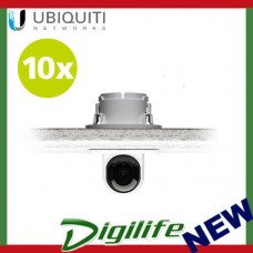 Ubiquiti UVC-G3-FLEX Camera Ceiling Mount Recessed Ceiling Mount 10 Pack