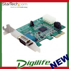 STARTECH 1 Port Low Profile Native PCI Express RS232 Serial Card with 16950 UART