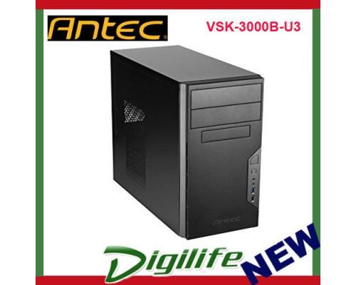 Antec VSK-3000B-U3 Front USB 3.0 ATX Micro-ATX Tower Computer PC Case