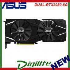 Asus nVidia GeForce RTX 2080 Dual 8GB GDDR6 Gaming Graphics Video Card HDMI DP