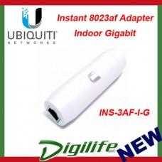 Ubiquiti Instant 8023af Adapter Indoor Gigabit INS-3AF-I-G POE Converter
