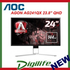 "AOC AGON AG241QX 23.8"" QHD 144Hz 1ms FreeSync Gaming Monitor"