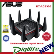 ASUS RT-AC5300 Wireless-AC5300 Tri-Band Gigabit Router NBN Ready