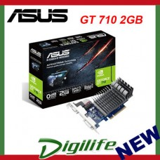ASUS NVIDIA GeForce GT 710 2GB PCIE Graphics Card VGA DVI HDMI GT710 710-2-SL