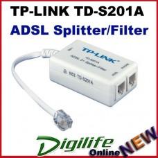 TP-LINK TD-S201A Splitter / Filter For Aus ALL ISP ADSL ADSL2+ In-line