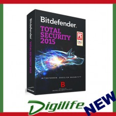 Bitdefender Total Security 2015 FULL RETAIL AntiVirus 3 users 1 year