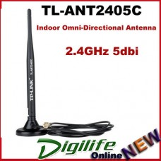 TP-LINK TL-ANT2405C Omni Antenna 2.4Ghz 5dBi Indoor Desktop RP-SMA Female