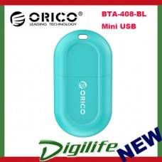 Orico Blue BTA-408 Mini USB Bluetooth 4.0 Adapter Laptop Notebook Camera Mobile.