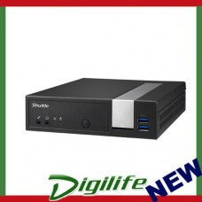 Shuttle DX30 Slim Mini PC 1.3L Fanless 4K 3xDisplays Celeron J33552xDDR3L SODIM