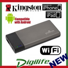 Kingston MobileLite Wireless Reader & Battery Power Bank MLW221