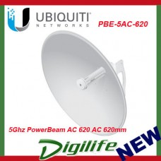 Ubiquiti 5Ghz PowerBeam AC 620 airMAX® AC Bridge Directional Antenna PBE-5AC-620