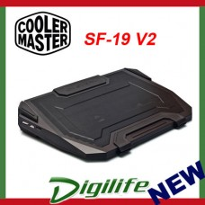 COOLER MASTER SF-19 V2 GAMING Notebook Cooler cooling pad coolermaster sf19