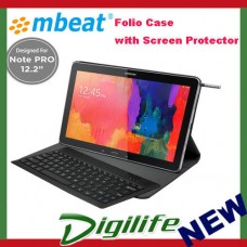 "mbeat Ultra Slim Bluetooth Keyboard Case for Note PRO 12.2""with Screen Protector"