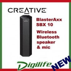 Creative Sound BlasterAxx SBX 10 Wireless Bluetooth Speaker, Multi-Core SBX10